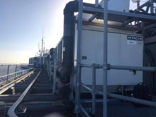 Fluid water chiller repairs