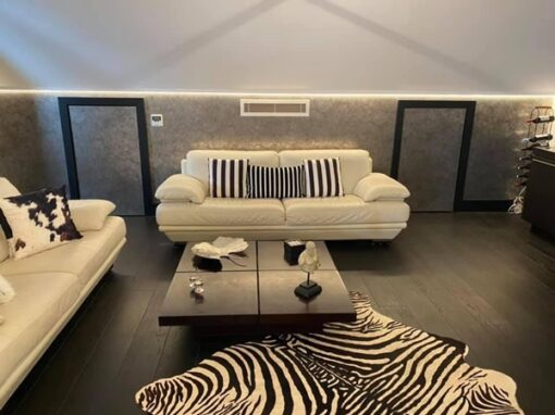 concealed air conditioning for comfortable living