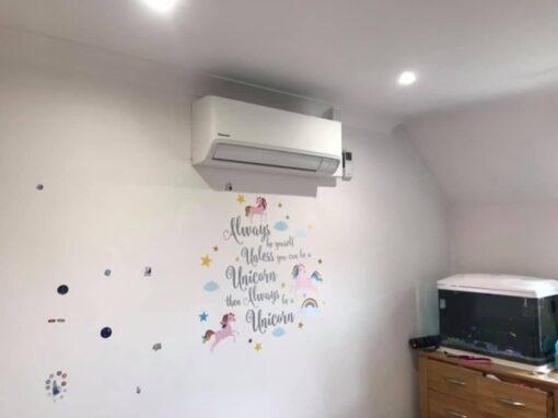 domestic air conditioning installatiom